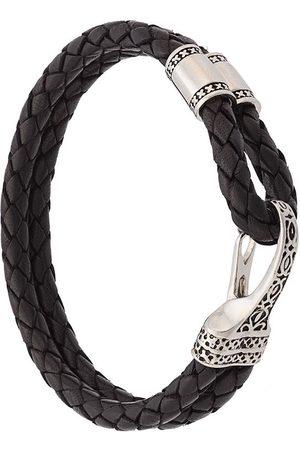 Nialaya Braided double wrap bracelet