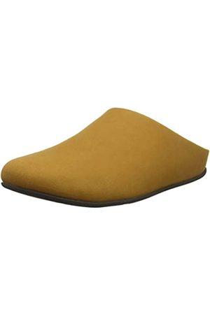 FitFlop Men's Shove Mule Leather Open Back Slippers, (Tan 277)