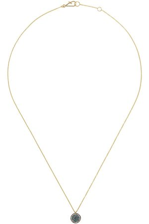 ANNOUSHKA 18kt Love Diamonds Evil Eye diamond necklace - 18ct