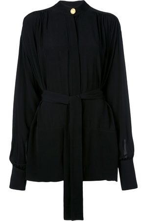 Proenza Schouler Draped crepe de chine top