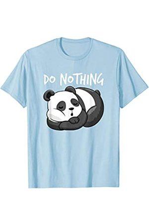 Sleeping Nap Shirt Do nothing Shirt Gifts Do Nothing SHIRT Sleeping Panda lazy girlfriend Nap GIft