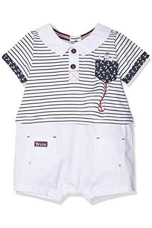Brums Baby Boys Pagliaccetto Jersey+Tessuto Piquet Romper