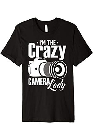 Crazy Camera Lady Shirt Gifts Crazy Camera Lady Shirt Funny Photographer Photography Lover