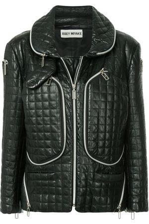 Issey Miyake Women Jackets - Functional zipped jacket