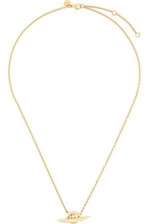 SHAUN LEANE Men Necklaces - Arc toggle bar necklace - Metallic