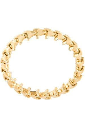 SHAUN LEANE 18kt gold 'Serpent's Trace' ring