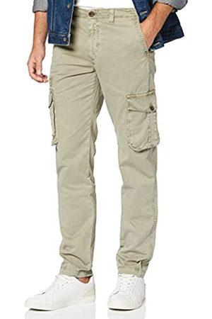 HKT BY HACKETT Hackett London Men's Hkt Cargo Trousers Straight Jeans, (Moss 695))