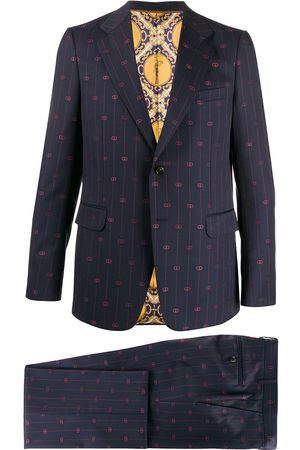 Gucci Interlocking G stripe suit