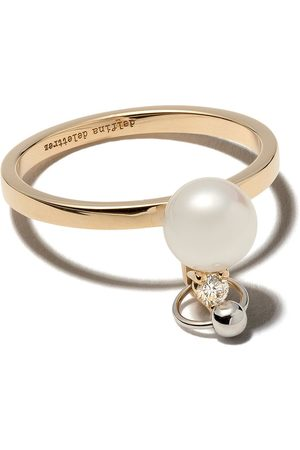 DELFINA DELETTREZ 18kt and Two in One diamond ring - /
