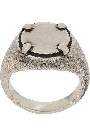 HENSON Round plate signet ring