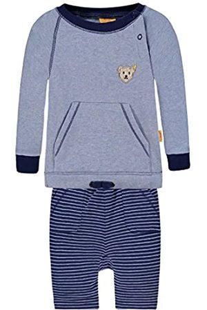 Steiff Boy's 2tlg. Set Sweatshirt 1/1 Arm + Jogginghose Footies