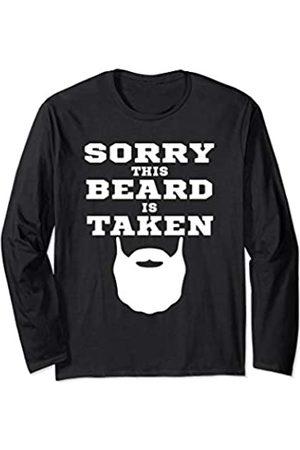 Sorry This Beard is Taken Bearded Man vintage Gift Sorry This Beard is Taken father's Day Gift for Men Bearded Long Sleeve T-Shirt