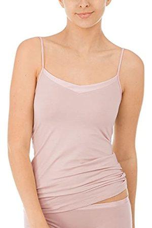 Calida Women's Cate DAMEN Spaghetti-Top Vest, Rosa (Rosewood 301)