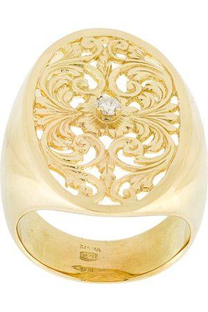 WOUTERS & HENDRIX Women Rings - Filigree diamond signet ring