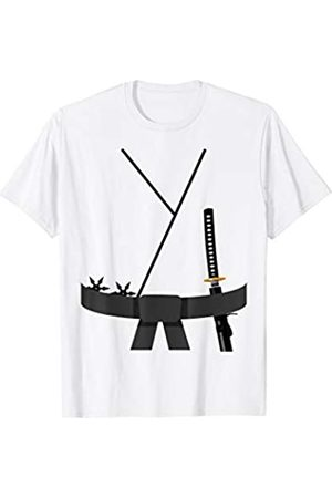 Funny Halloween Designs by FunJDesign Cute Design Black Belt Karate Custome Halloween T-Shirt