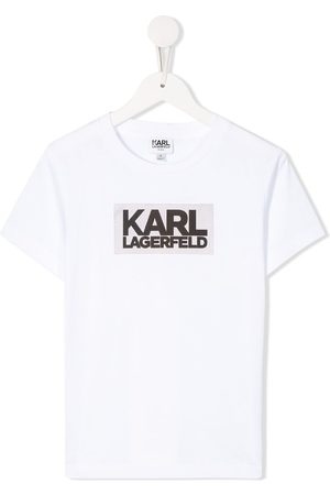 Karl Lagerfeld Printed crew neck T-shirt
