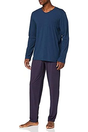 Schiesser Men's Long Life Cotton Schlafanzug Lang Pyjama Set