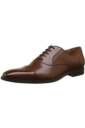 Geox Men U New Life E-U74P4E00043 Oxfords, (Cognac C6001)