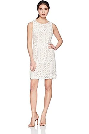 UNKNOWN Jessica Howard Women's Petite Sleeveless Lace Shift Dress