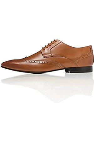 FIND Ashby Leather, Men's Brogues, (Tan)