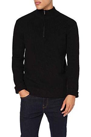 FIND Amazon Brand - Men's Cardigan, L