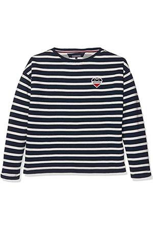 Tommy Hilfiger Girl's Ame Stripe Bn Hwk L/S Sweatshirt