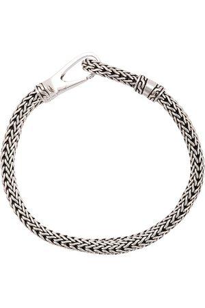 John Hardy Silver Classic Chain Bracelet with Hook Clasp - Metallic