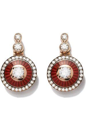 SELIM MOUZANNAR 18kt rose diamond earrings