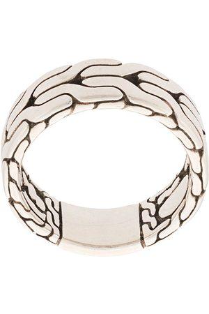John Hardy Men Rings - Classic Chain Band Ring