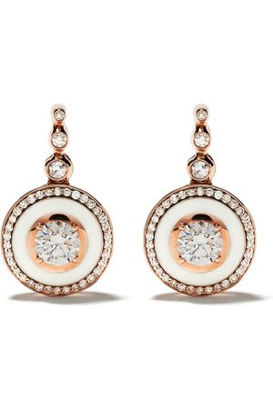 SELIM MOUZANNAR 18kt rose diamond Mina earrings