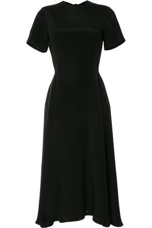Macgraw Bow-fastened midi dress