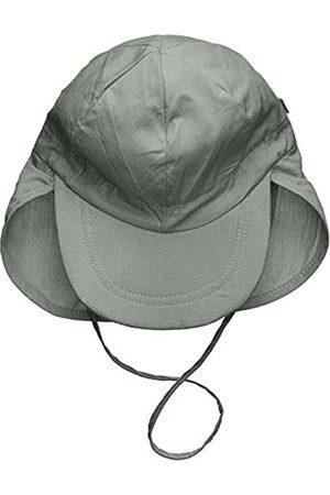 Melton Boy's Sommerhut mit Schirm und Nackenschutz UV 30+, uni Cap