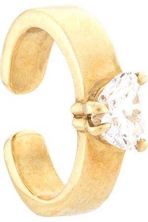 Anita 18kt yellow heart diamond ear cuff