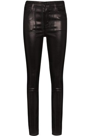 J Brand Maria faux leather skinny trousers