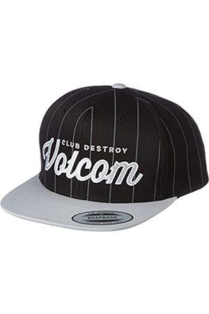 Volcom Men's Fresh Starter Cap Baseballmütze Snapback Schwarz Baseball