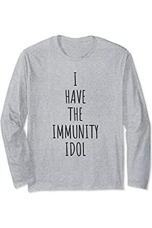 Immunity Idol Womens Mens Gifts Immunity Idol For Men Women Gift Unisex Tee Long Sleeve T-Shirt