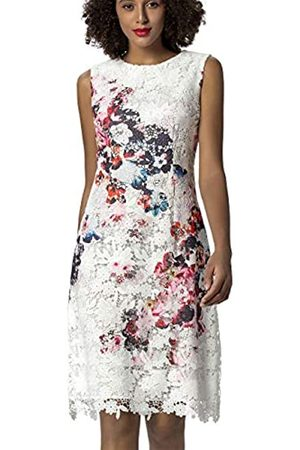 Apart Women's Printed Lace Dress Party
