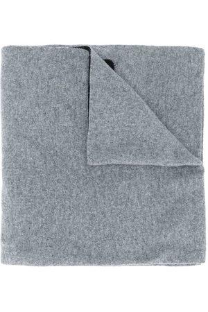 Moschino Intarsia knit logo scarf