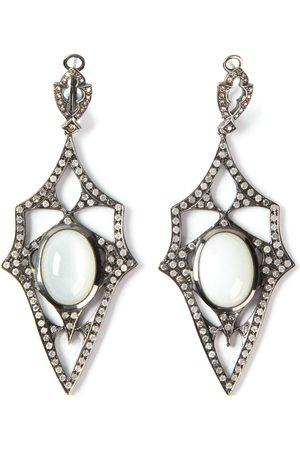 LOREE RODKIN Kaleidoscope' diamond earrings - Metallic