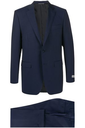 CANALI Micro-stripe slim fit suit
