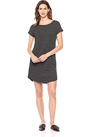 Daily Ritual Women's Supersoft Terry Dolman-Sleeve Boat-Neck Dress