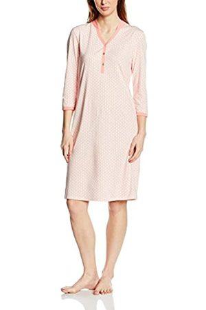 Palmers Women's Nachthemd Graphic Ornament Nightie, -Rosa (Papaya 491)