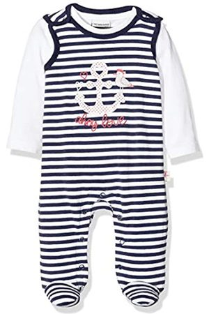 Salt & Pepper Baby Girls' Gestreift Mit Anker Glitzerdruck Footies