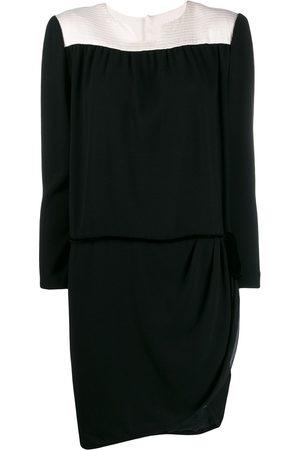 A.N.G.E.L.O. Vintage Cult 1980's asymmetric longsleeved dress