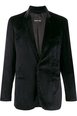 Giorgio Armani 1990s one-button blazer