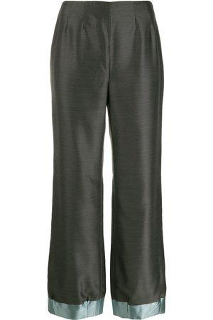 Giorgio Armani 1990's loose bootcut trousers