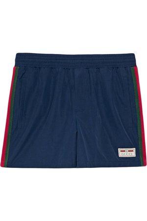 Gucci Sylvie Web swim shorts