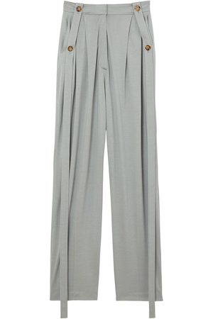 Burberry High-waisted tailored trousers