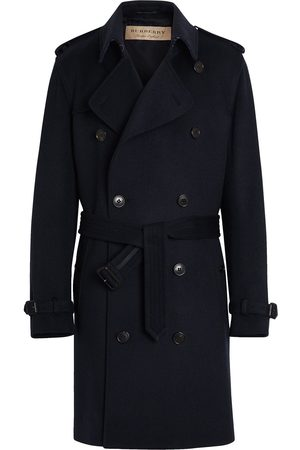 Burberry Men Trench Coats - Double-breasted trench coat