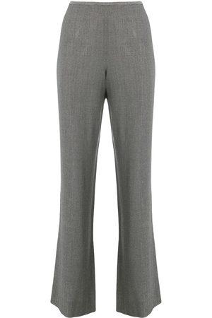 Giorgio Armani 1990's bootcut cropped trousers
